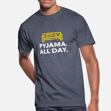 Truant Throughout The Day In Your Pajamas! - Men's 50/50 T-Shirt