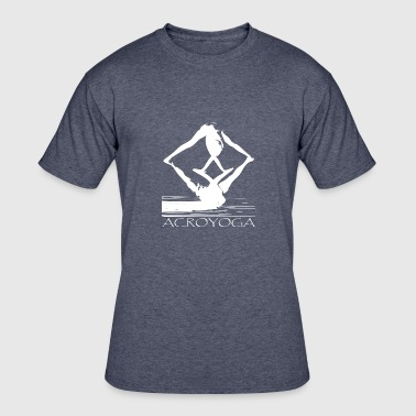 Acroyoga_white - Men's 50/50 T-Shirt
