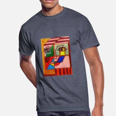 Original Art LuckyPen Art - Men's 50/50 T-Shirt