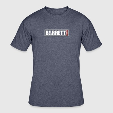 Barrett Sniper Rifle Firearms Army Weapon Logo - Men's 50/50 T-Shirt