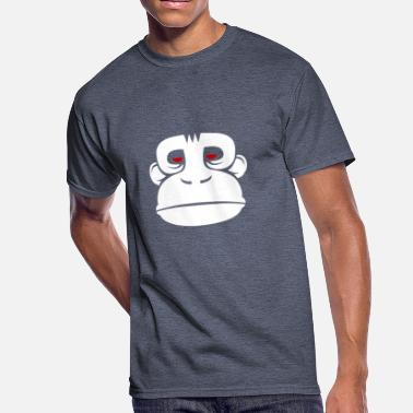 Evil Eyes Red Evil Monkey Red Eye - Men's 50/50 T-Shirt