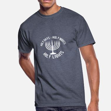 Holy Light Holy Days Holy Nights Holy Lights - Men's 50/50 T-Shirt