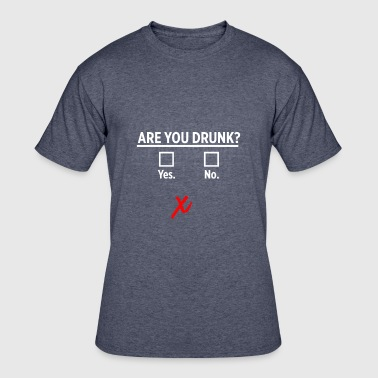 Drunk Blurry Are You Drunk? (Blurry Vision) - Men's 50/50 T-Shirt