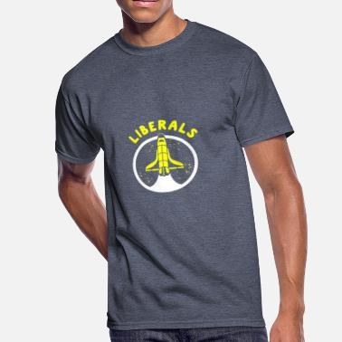 Liberate LIBERALS - Men's 50/50 T-Shirt
