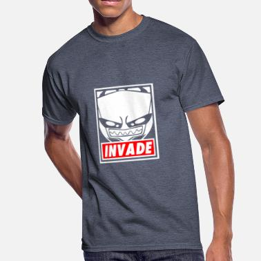 Invaders Design New Design Invade Best Seller - Men's 50/50 T-Shirt