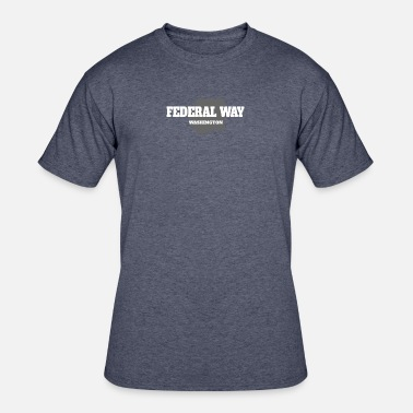 Federal State WASHINGTON FEDERAL WAY US STATE EDITION - Men's 50/50 T-Shirt