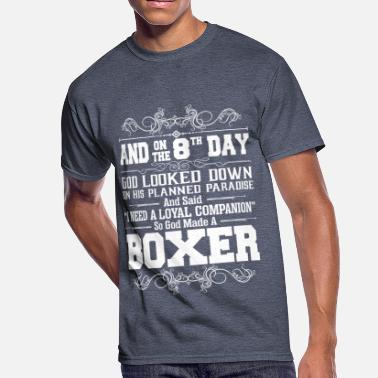 God In A Box And On The 8th Day God Look Down So God Made A Box - Men's 50/50 T-Shirt