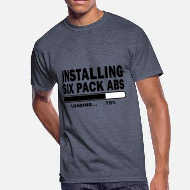 Six-pack Abs INSTALLING SIX PACK ABS - Men's 50/50 T-Shirt