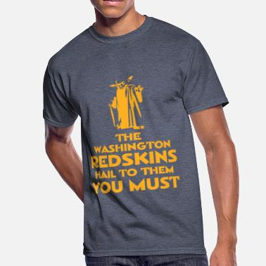 Redskins Hail to the Redskins - Men's 50/50 T-Shirt