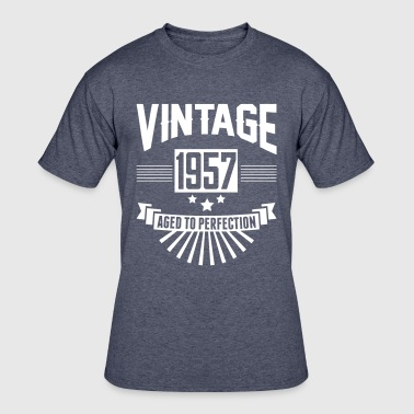 1957 Aged To VINTAGE 1957 - Aged To Perfection - Men's 50/50 T-Shirt