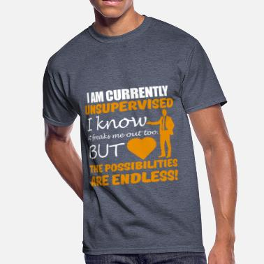 Currently Unsupervised I am currently unsupervised - Men's 50/50 T-Shirt