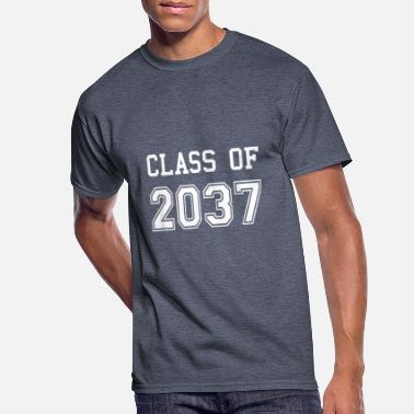 Preschool Graduation Class Of 2037 For Gir best de - Men's 50/50 T-Shirt