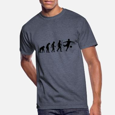 Ape evolution soccer - Men's 50/50 T-Shirt