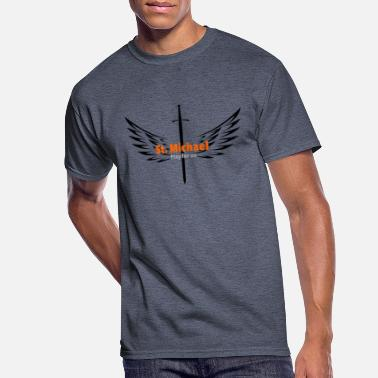 Archangel St. Michael Archangel - Men's 50/50 T-Shirt