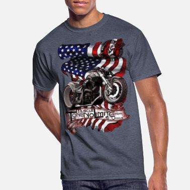 The ONE No Limit Custom Motorcycle Repair Service - Men's 50/50 T-Shirt