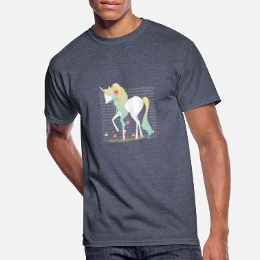cute unicorn - Men's 50/50 T-Shirt