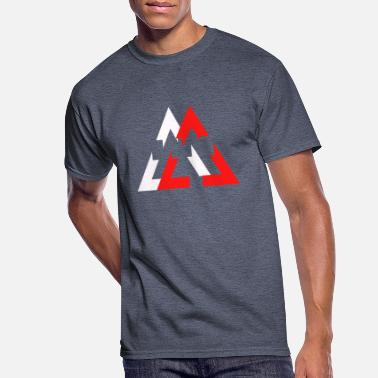 Double Meaning double rectangle - Men's 50/50 T-Shirt