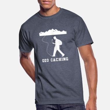 Cache GEO CACHING - Men's 50/50 T-Shirt