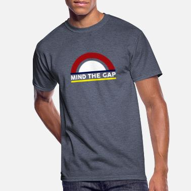 Underground Mind the Gap - Men's 50/50 T-Shirt
