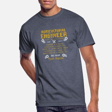 Agricultural Engineering Agricultural Engineer - Men's 50/50 T-Shirt