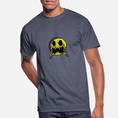 Smile funny pop art - Men's 50/50 T-Shirt