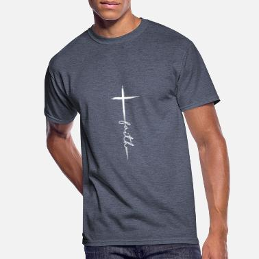 Cool Faith Christian Jesus for Men Women girls Kids - Men's 50/50 T-Shirt