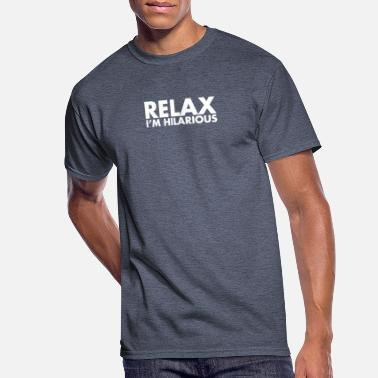 Relax Opinion Funny - Men's 50/50 T-Shirt