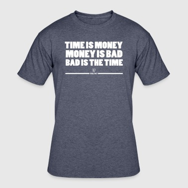 Time Is Money by #Milfa7 - Men's 50/50 T-Shirt