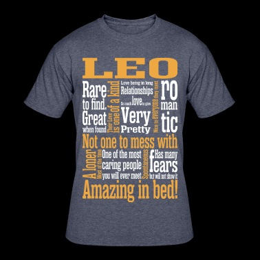 Leo Amazing In Bed - Men's 50/50 T-Shirt