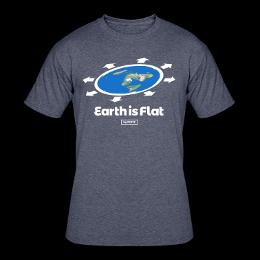 Flat Earth Design by #FETS - N°1 - Men's 50/50 T-Shirt