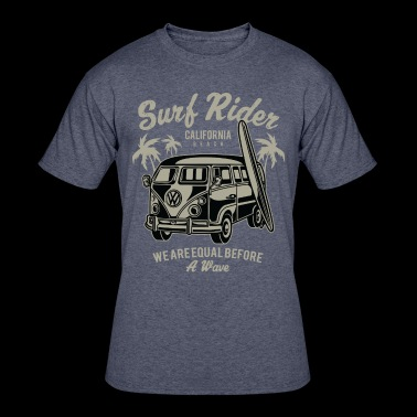 Surf Rider - Men's 50/50 T-Shirt