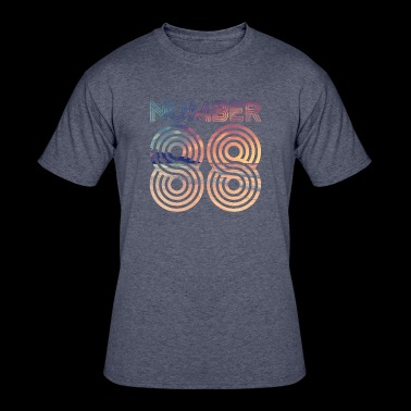 Number 88 - Men's 50/50 T-Shirt