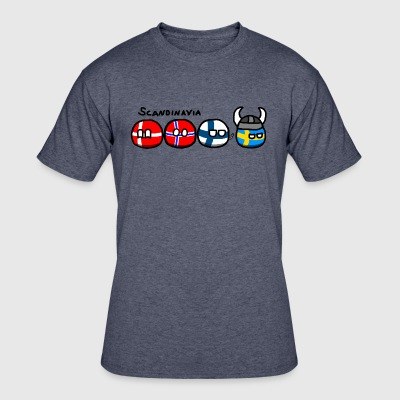 ScandinaviaBalls - Men's 50/50 T-Shirt