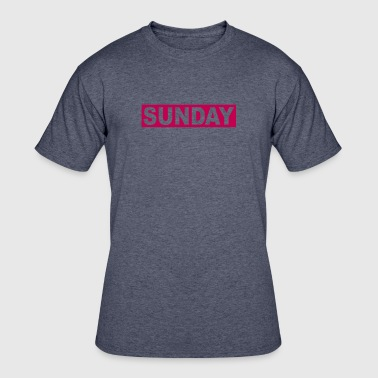 SUNDAY - Men's 50/50 T-Shirt
