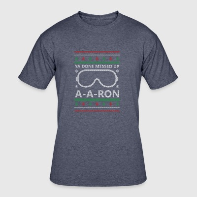 A-A-Ron Christmas - Men's 50/50 T-Shirt