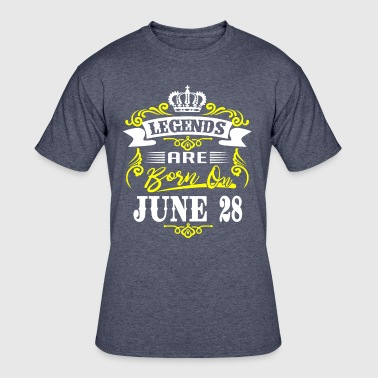 Legends are born on June 28 - Men's 50/50 T-Shirt