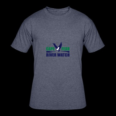 Cape Fear River Watch Logo - Men's 50/50 T-Shirt
