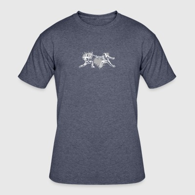 Fencing Tee Shirt - Men's 50/50 T-Shirt