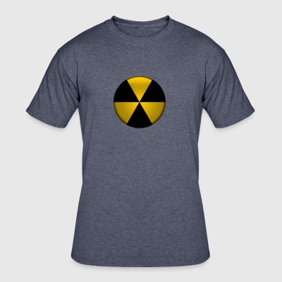 Radioactive Button - Men's 50/50 T-Shirt