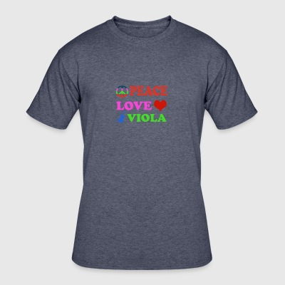 Peace love Viola - Men's 50/50 T-Shirt