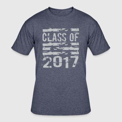 Class of 2017 Cool Grunge Typography - Men's 50/50 T-Shirt