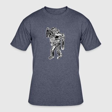 Boom Bot - Men's 50/50 T-Shirt