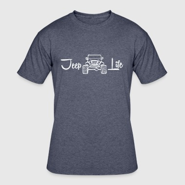 Jeep Life - Men's 50/50 T-Shirt