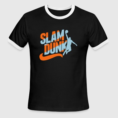 Slam Dunk - Men's Ringer T-Shirt