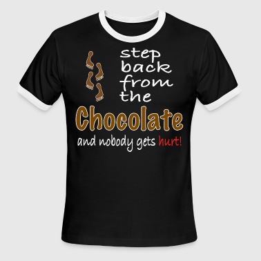 Chocolate Lover Perfect graphic for chocolate lovers. - Men's Ringer T-Shirt