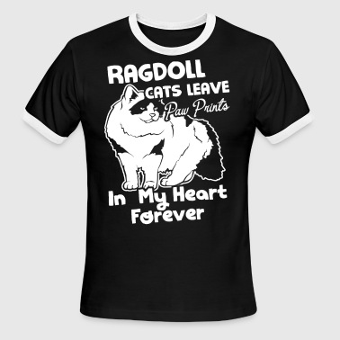 Ragdoll Cat Shirt - Men's Ringer T-Shirt