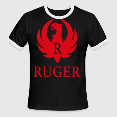 Anti-brand RUGER WEAPON Brand RIFLE AR 15 PRO GUN 2nd amendm - Men's Ringer T-Shirt