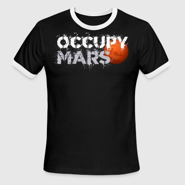 Occupy OCCUPY MARS VINTAGE - Men's Ringer T-Shirt