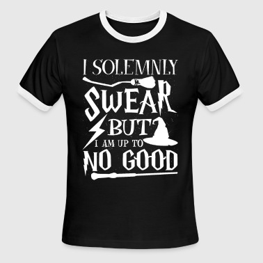 Kobold I solemnly swear but i am up to no good - Men's Ringer T-Shirt