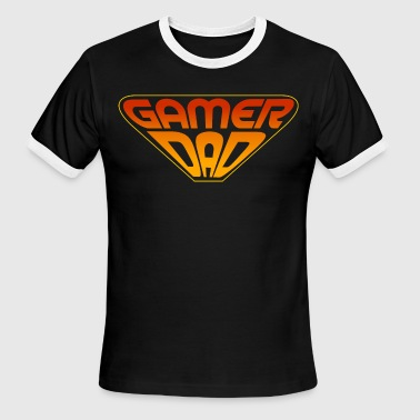 gamer dad - Men's Ringer T-Shirt